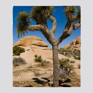 Joshua Tree Throw Blanket