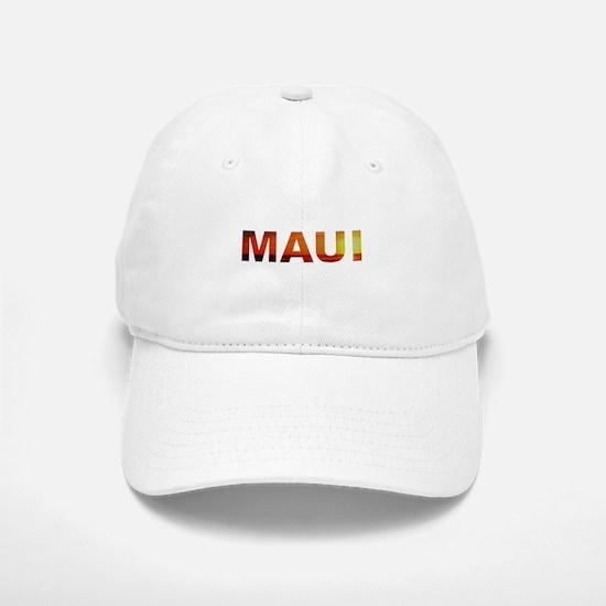 Maui, Hawaii Baseball Baseball Cap