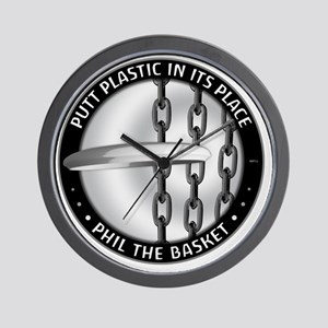 Phil The Basket Wall Clock