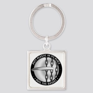 Phil The Basket Square Keychain
