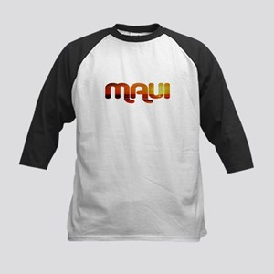 Maui, Hawaii Kids Baseball Jersey