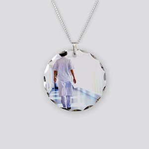Physician assistant Necklace Circle Charm