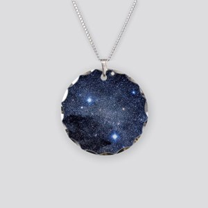 The constellation of the Sou Necklace Circle Charm