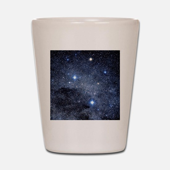 The constellation of the Southern Cross Shot Glass