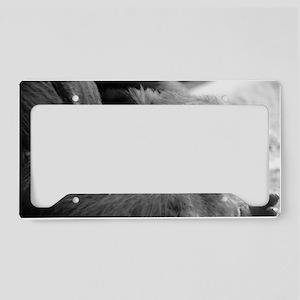 Baby Gorilla License Plate Holder