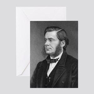 Thomas Huxley, English biologist Greeting Card
