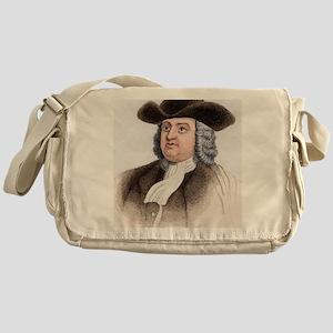 William Penn, English coloniser Messenger Bag