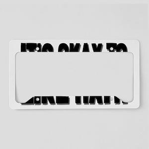 likemathrectangle License Plate Holder