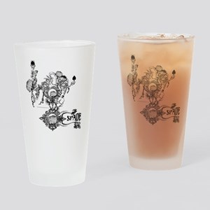 Skin The Queen of Spades Drinking Glass