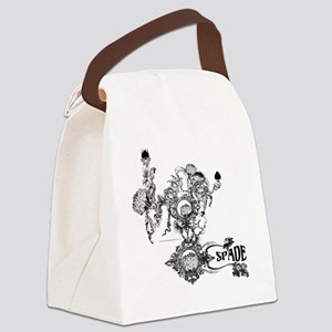 Skin The Queen of Spades Canvas Lunch Bag