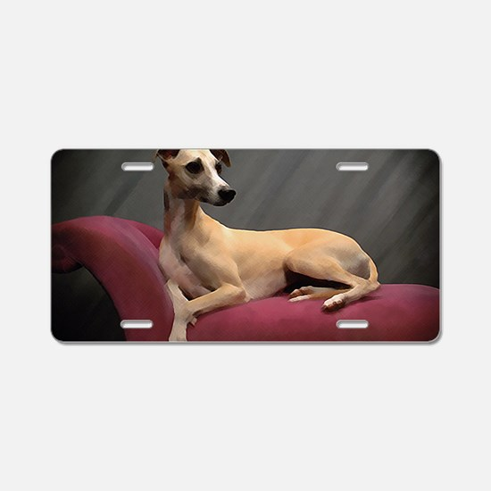Whippet Lounge Aluminum License Plate