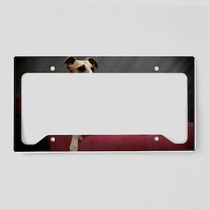 Whippet Lounge License Plate Holder