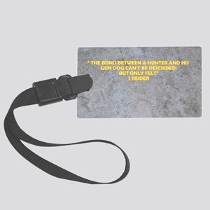 COLD STONE QUOTES Large Luggage Tag