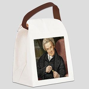 William Wilberforce, British poli Canvas Lunch Bag