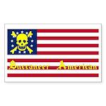Buccaneer American Rectangle Sticker