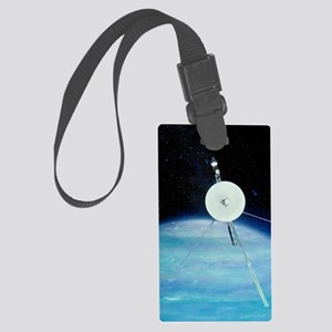Voyager 2 approaching Solar syst Large Luggage Tag