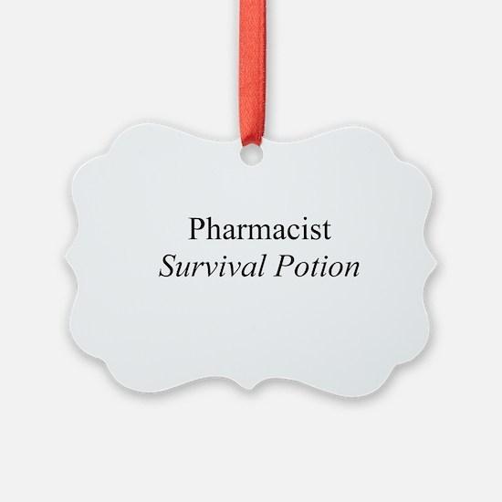 Pharmacist Survival Potion Ornament