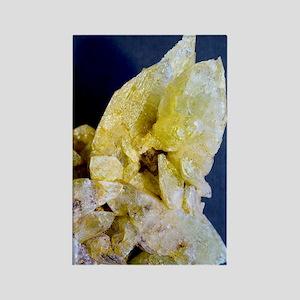 Brazilianite crystals Rectangle Magnet