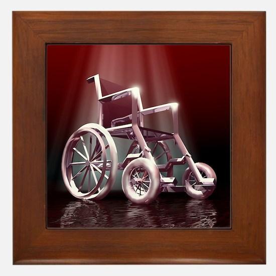 Wheelchair Framed Tile