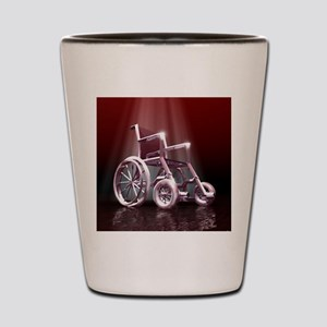Wheelchair Shot Glass