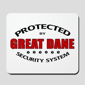 Great Dane Security Mousepad