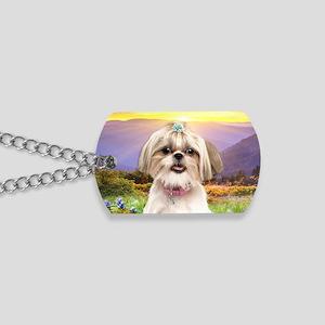 meadow(oval) Dog Tags