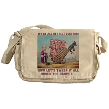 T-Shirt: Leveson Inquiry Messenger Bag