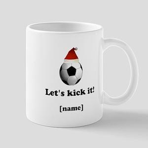 Personalized Lets kick it! - Xmas Mugs