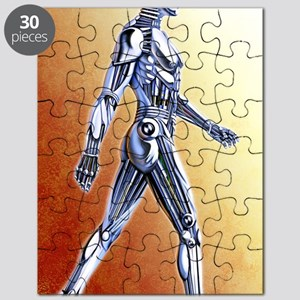 Android robot Puzzle