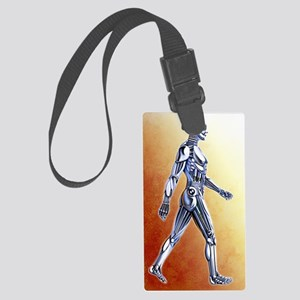 Android robot Large Luggage Tag