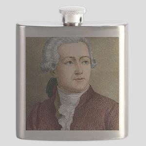 Antoine Lavoisier, French chemist Flask