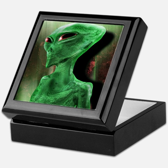 Alien Keepsake Box