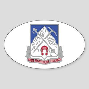 DUI - 1st Battalion,87th Infantry Regiment Sticker