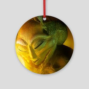 Alien Round Ornament