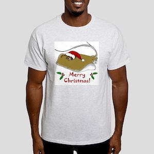 Christmas Stingray Light T-Shirt