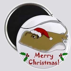 Christmas Stingray Magnet