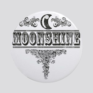 Moonshine Round Ornament