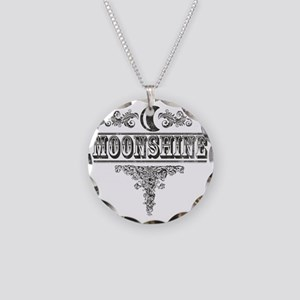 Moonshine Necklace Circle Charm