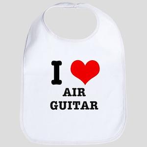 i Heart (Love) Air Guitar Bib