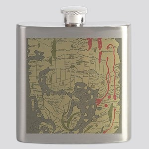 Anglo-Saxon 10th century world map Flask