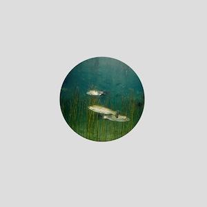Brown trout Mini Button