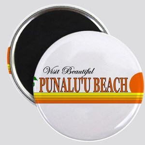 Visit Beautiful Punalu'u Beac Magnet
