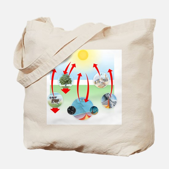 Carbon cycle Tote Bag