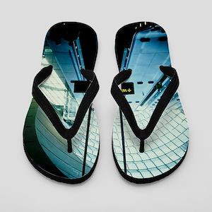 Canary Wharf tube station Flip Flops