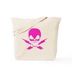 Lightning Bolt Jolly Roger Tote Bag