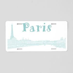 Paris_PontAlexandre_Blue Aluminum License Plate
