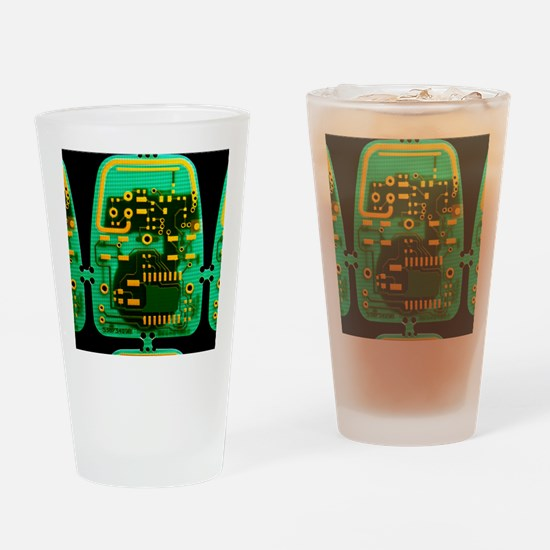 Circuit boards Drinking Glass