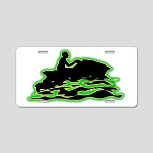 Jet-Skiing-AC Aluminum License Plate