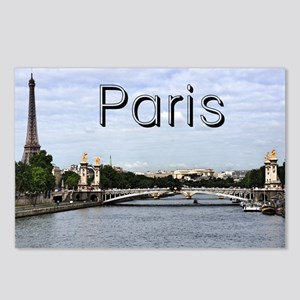 Paris_10X8_puzzle_mousepa Postcards (Package of 8)