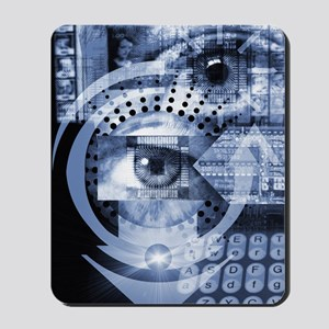Computer surveillance Mousepad